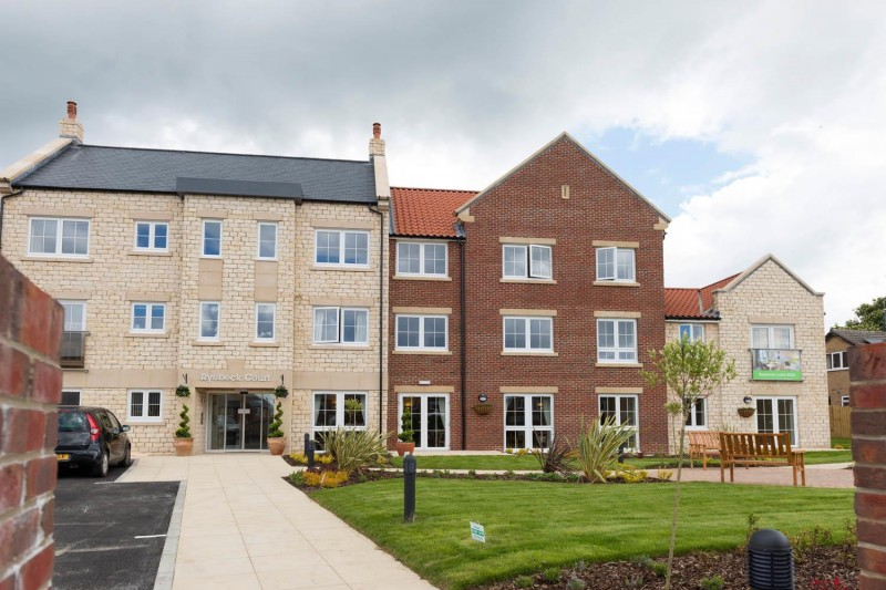 Floorplan for Ryebeck Court, Outgang Road, Eastgate, Pickering