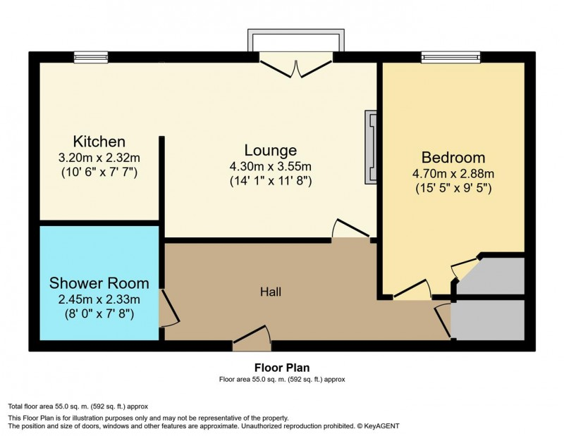 Floorplan for Marbury Court, Chester Way, Northwich