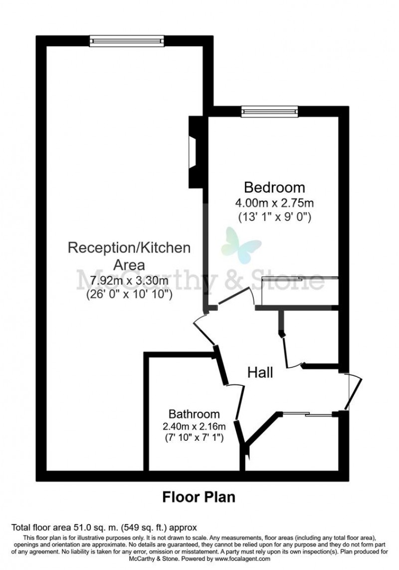 Floorplan for 119 North Marine Road, Scarborough
