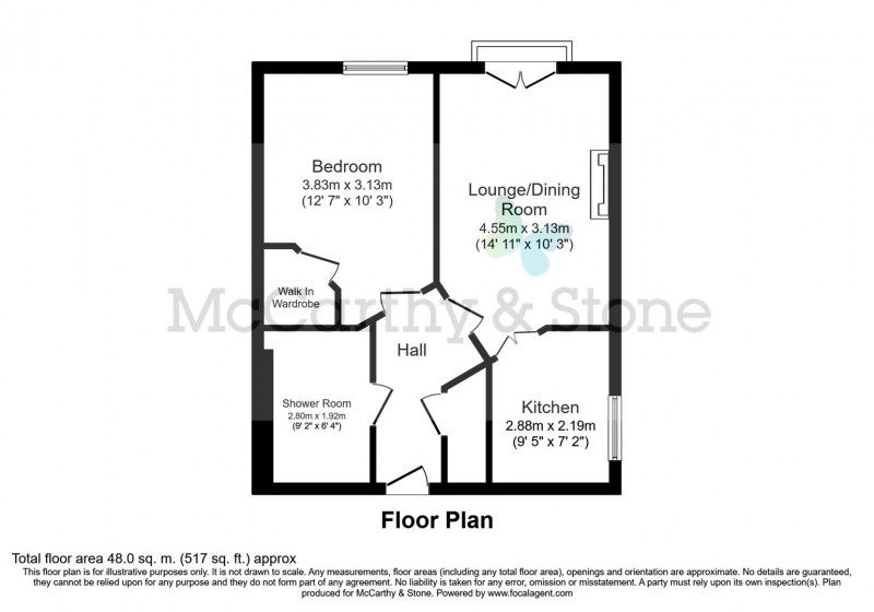 Floorplan for Cambridge Road, Southport, Merseyside PR9 9DH