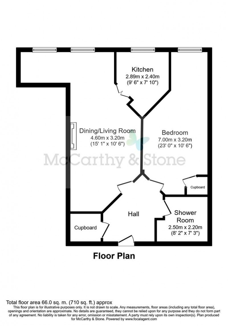 Floorplan for Bowles Court, Westmead Lane, Chippenham, Wiltshire, SN15 3GU